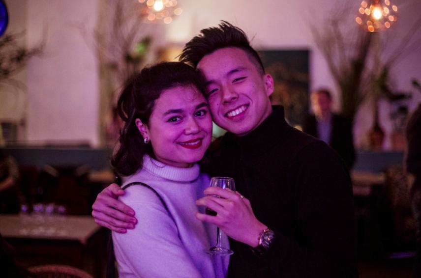 Yume et Pierre Soirée de lancement 2019