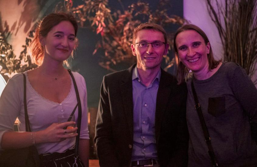 Alek, Céline et Emeline Soirée de lancement 2019