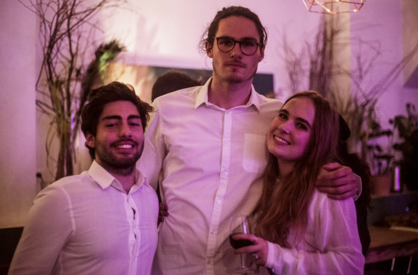 Irakli Antoine et Loane Soirée de lancement 2019