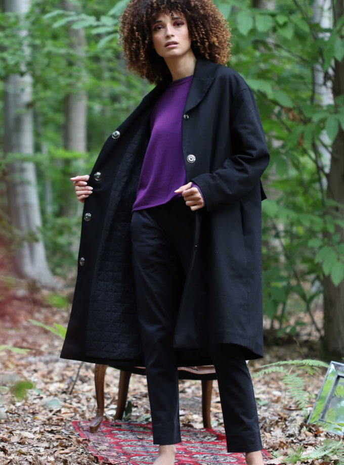 Manteau chloé noir